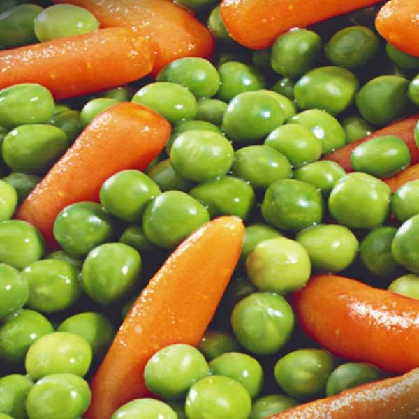 Gemüse Erbsen und Mörchen Jütro Tiefkühlkost