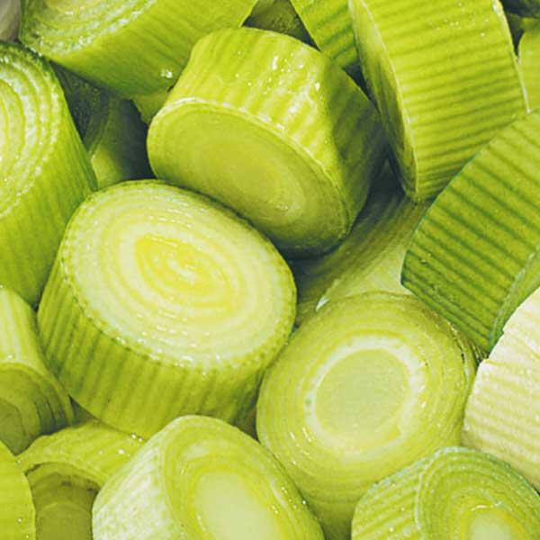 Gemüse Porree Jütro Tiefkühlkost