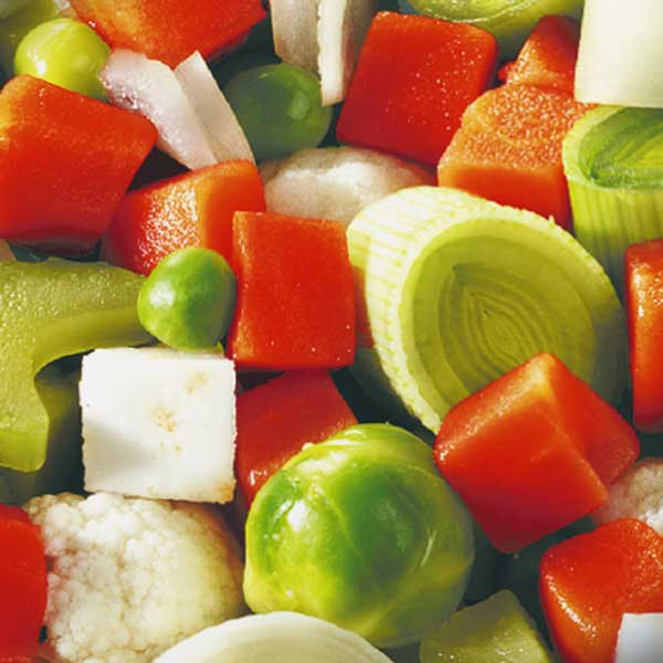 Gemüse Suppengemüse Jütro Tiefkühlkost