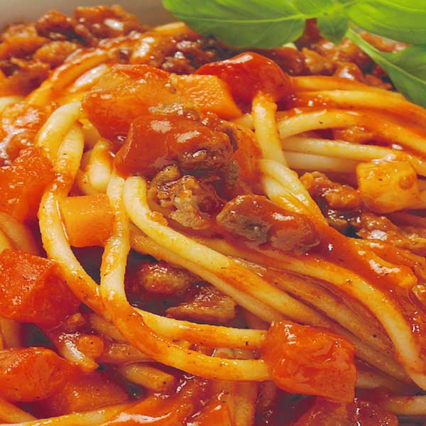 Vegan Spaghetti Bolognese Jütro Tiefkühlkost