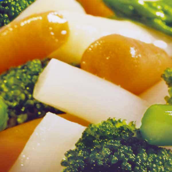 Fertiggerichte Gemüsemischung Erbsen Möhrchen Jütro Tiefkühlkost