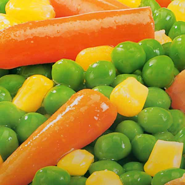 Fertiggerichte Gemüsemischung Mais Möhrchen Jütro Tiefkühlkost